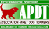 Professional Member Association of Pet Dog Trainers